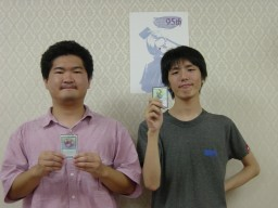 Lunatic Moon Convention 95th Champion: 秋田直人 & Finalist: 仙波恒太郎