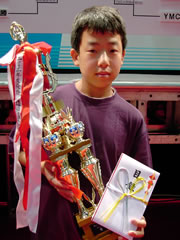 2004 Junior Champion: 小池貴之