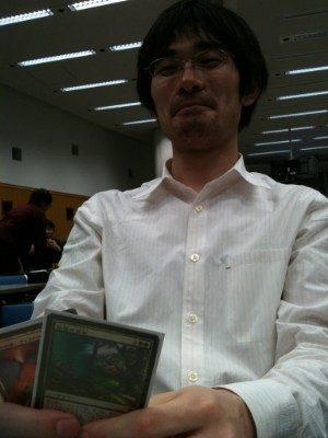 MTG Today Cup 5th Champion : 齋藤悠